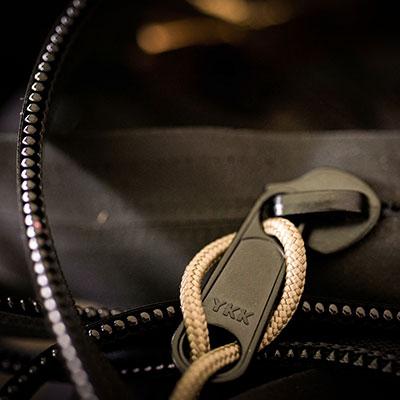 Materials zippers