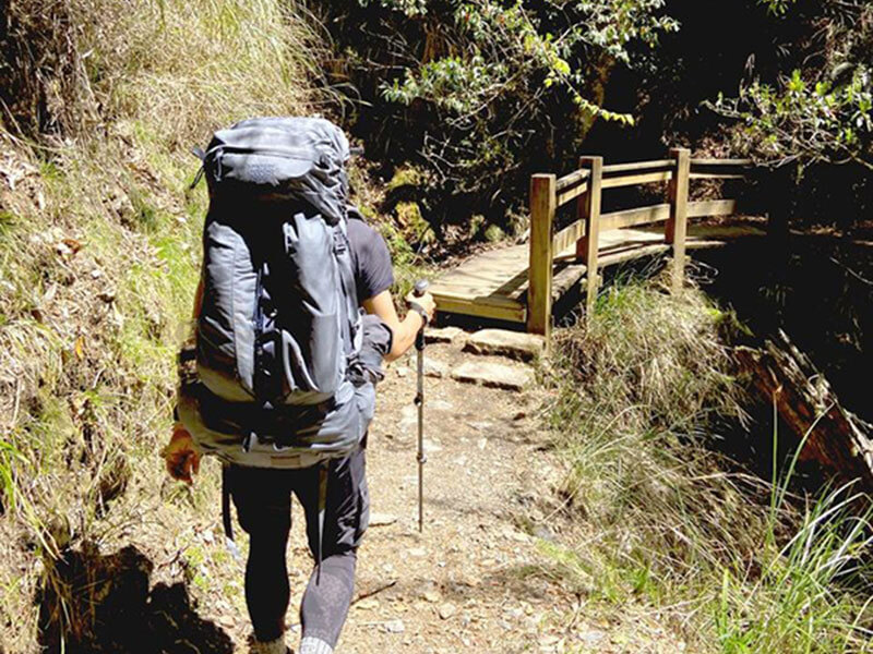 【第一屆試背員心得】 兩趟百岳行程與GLACIER